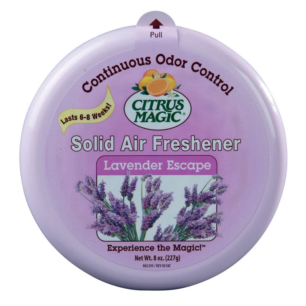 Citrus Magic Solid Air Freshener Lavender 8oz