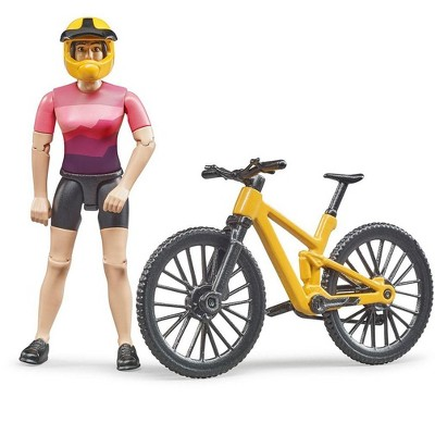Bruder bworld Mountain Bike with Figure