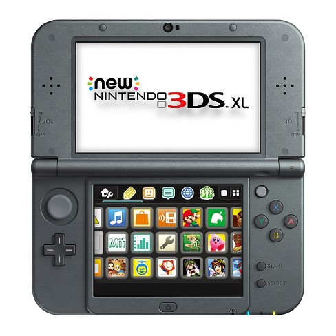 New Nintendo 3DS XL - Black - image 1 of 7