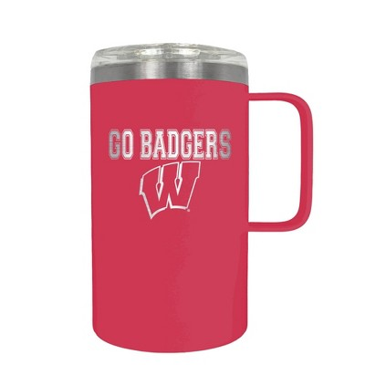 NCAA Wisconsin Badgers 18oz Hustle Travel Mug