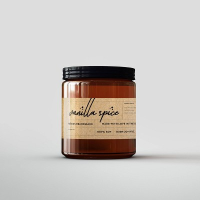 Vanilla Spice Candle - Freres Branchiaux