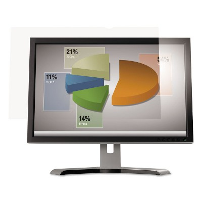 "3M Antiglare Flatscreen Frameless Monitor Filters for 24"" Widescreen LCD 16:9 AG240W9B"