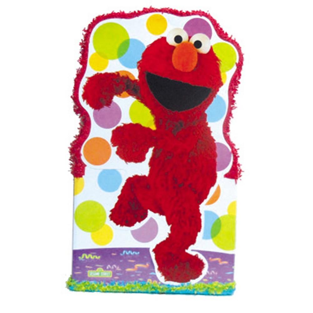 Elmo Giant Pull-String Pinata Kit, Multi-Colored