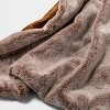 "50""x60"" Faux Rabbit Fur Throw Blanket - Threshold™ - image 3 of 4"