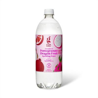 Pomegranate Dragon Fruit Sparkling Water - 1L Bottle - Good & Gather™