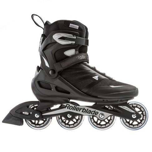 Rollerblade USA Zetrablade Mens Adult Size 13 Fitness Inline Skate, Black/Silver - image 1 of 4