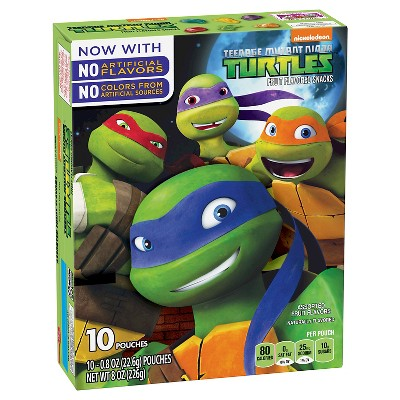 Fruit Snacks: Teenage Mutant Ninja Turtles