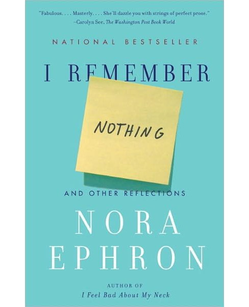 I Remember Nothing (Paperback) - image 1 of 1