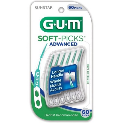 Dental Floss: Gum Soft-Picks Advanced