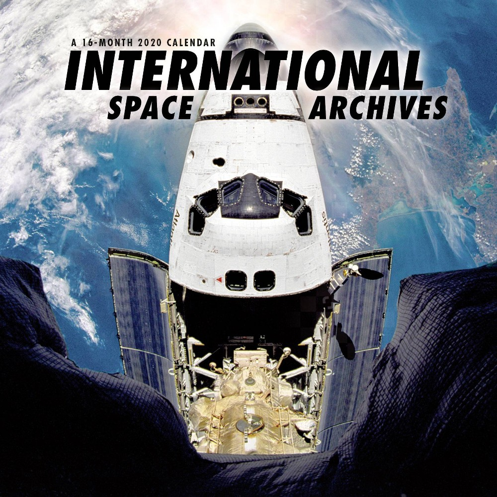 Image of 2020 Wall Calendar International Space Archives Monthly - Trends International