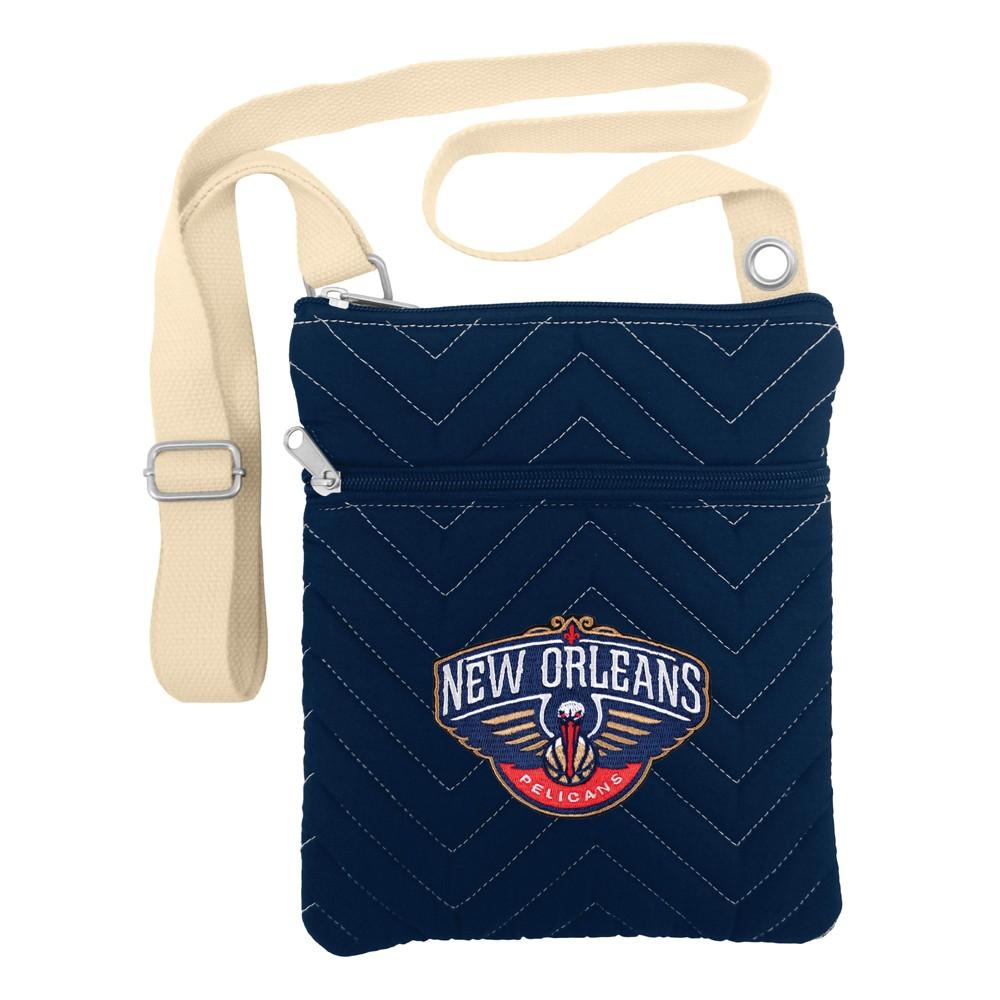 NBA New Orleans Pelicans Chev Stitch Crossbody Bag, Girl's