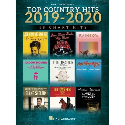 Top Country Hits of 2019-2020 - (Paperback) - image 1 of 1