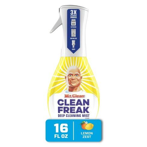 Mr. Clean, Clean Freak Deep Cleaning Mist Multi-Surface Spray, Lemon Zest Scent Starter Kit - 16 fl oz/1ct - image 1 of 4