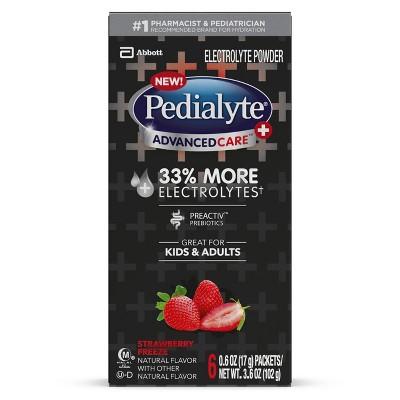 Electrolyte Powder & Drinks: Pedialyte AdvancedCare Plus Powder Packs