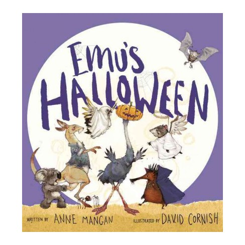 Emu's Halloween - by  Anne Mangan (Hardcover) - image 1 of 1