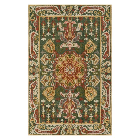 Tangier Indre Medallion Tufted Accent Rug - Momeni - image 1 of 4