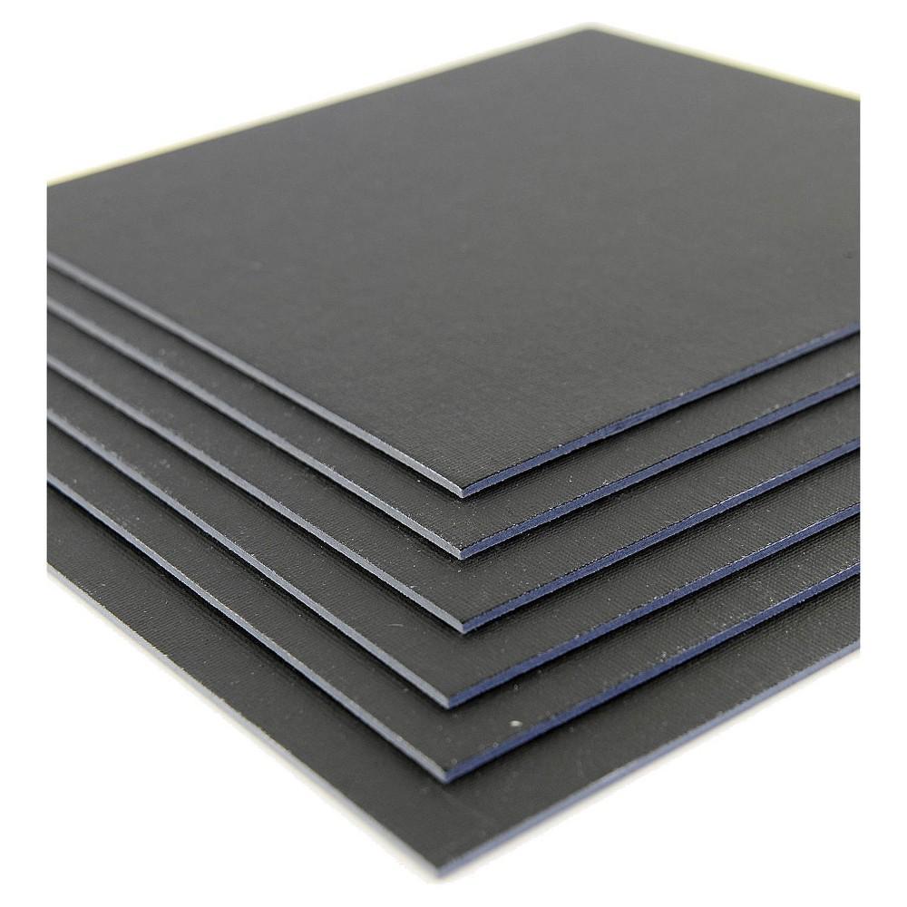 Fredrix Value Series Cut Edge Canvas Panels, Black, 12