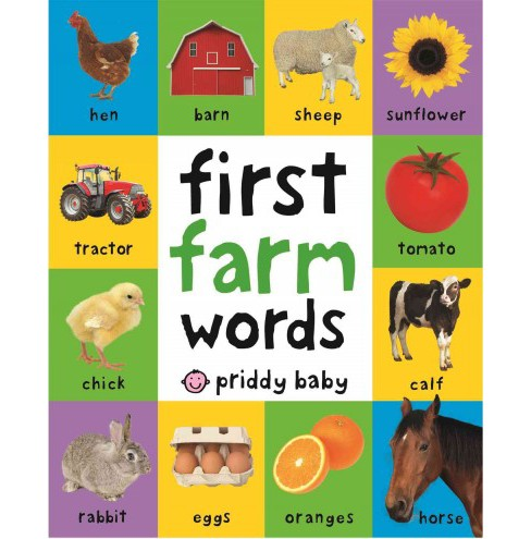 First Farm Words (Hardcover) (Roger Priddy) - image 1 of 1