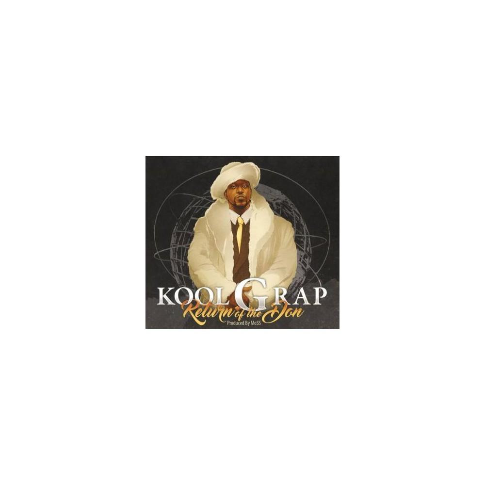 Kool G Rap - Return Of The Don (CD)