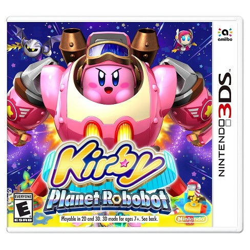 kirby planet robobot nintendo 3ds target