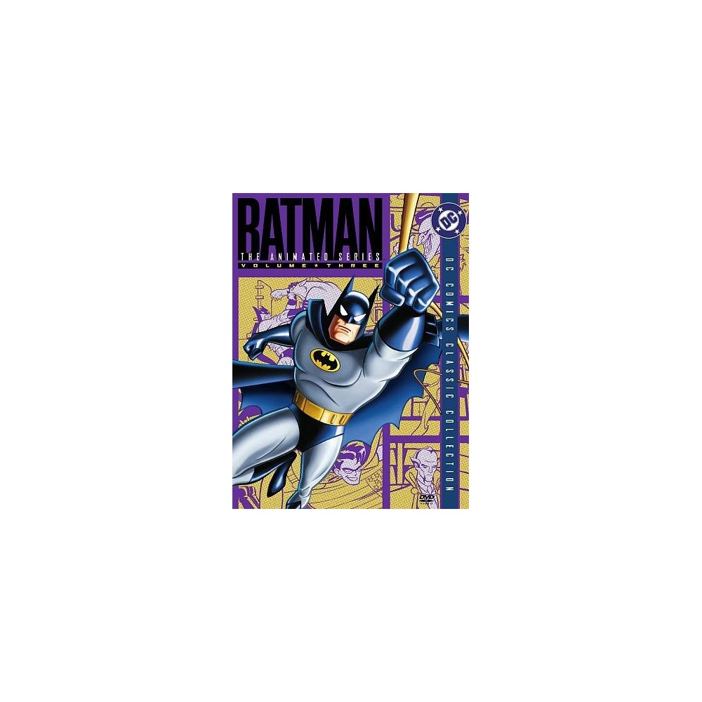 Batman:Animated Series Vol 3 (Dvd)