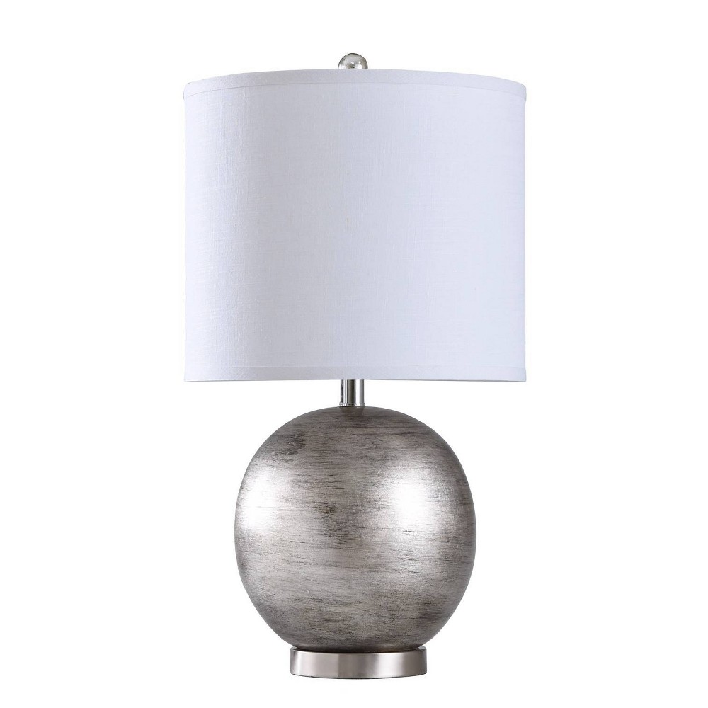 Image of Mercury Table Lamp Light Silver (Includes Light Bulb) - StyleCraft