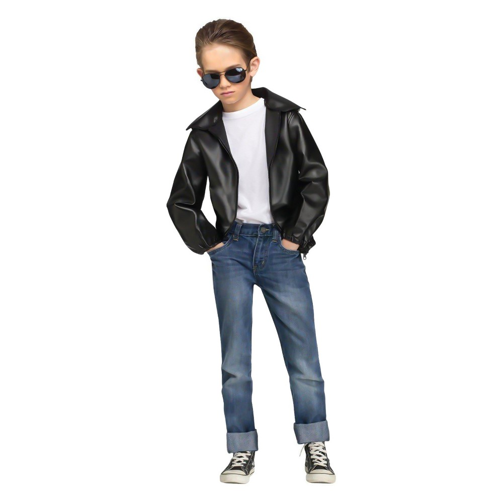 Vintage Style Children's Clothing: Girls, Boys, Baby, Toddler Rock N Roll Boys Greaser Costume Kit-Small Size Small Multicolored $37.99 AT vintagedancer.com