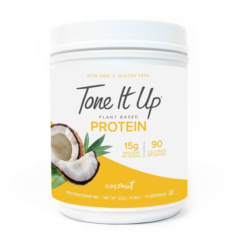 Tone It Up Plant Based Protein Powder - Coconut - 11.36oz