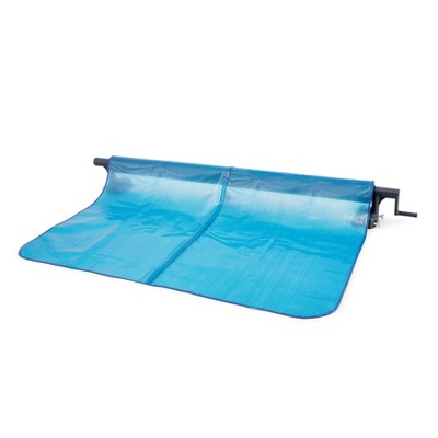 Intex Heavy Duty Aluminum Solar Above Ground Pool Cover Reel, Cover Not Included