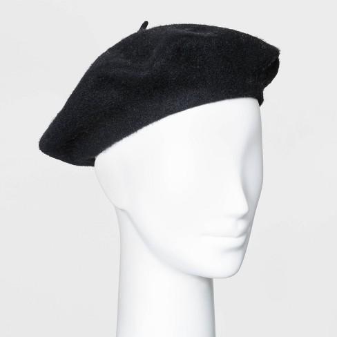 Women's Felt Beret Hat - A New Day™ - image 1 of 2