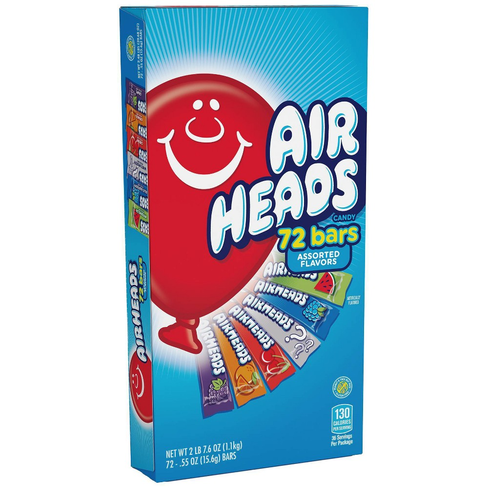 Airheads Halloween Bars Club Box - 39.68oz / 72ct
