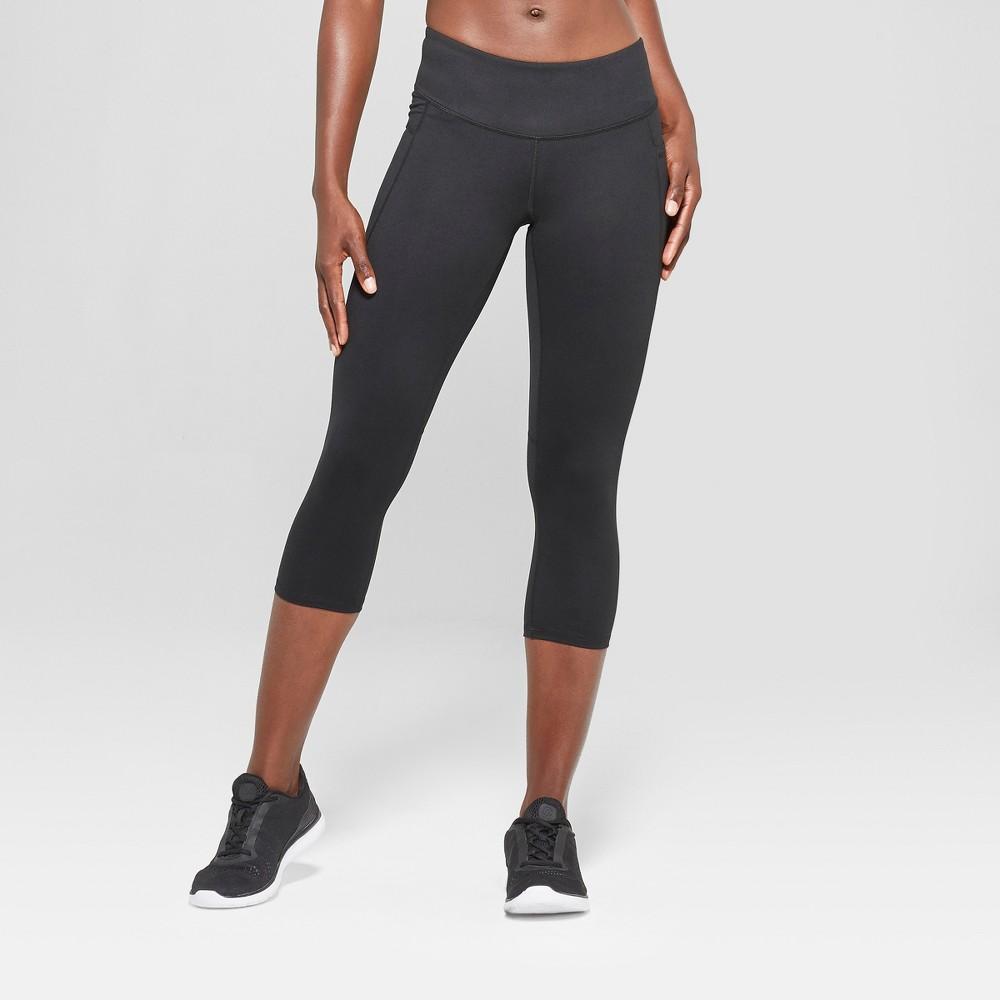 Women's Studio Mid-Rise Capri Leggings 20 - C9 Champion Black S