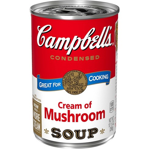 Campbell's Condensed Cream of Mushroom Soup - 10.5oz - image 1 of 4