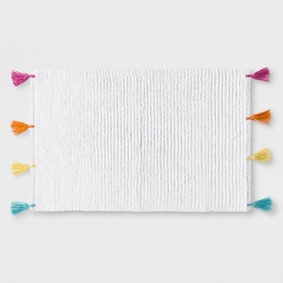 Rainbow Tassel Bath Rug - Pillowfort™