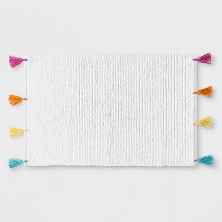 Rainbow Tassel Bath Rug - Pillowfort™