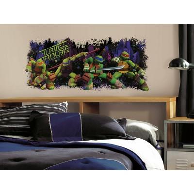 Teenage Mutant Ninja Turtle Trouble Graphic Peel and Stick Wall Decal - RoomMates