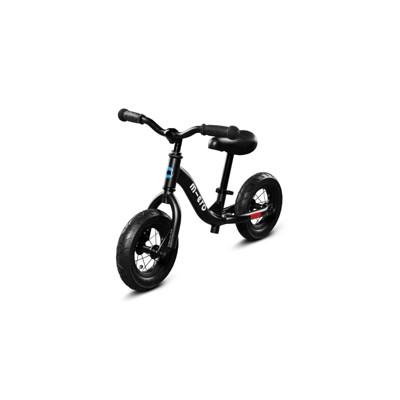 "Micro Kickboard 8"" Kids' Balance Bike - Black"