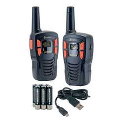 Cobra 16 Mile Range FRS Value 2 Pack - Black (CXT145)