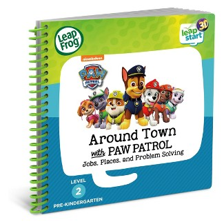 LeapFrog LeapStart Around Town with PAW Patrol Book - 3D