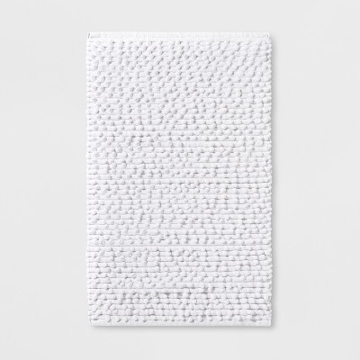 Mesa Nubby Cotton Bath Rug Fresh White - Project 62™