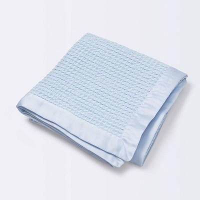 Waffle Blanket - Cloud Island™ Blue