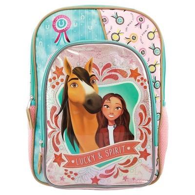 """DreamWorks Spirit 16"""" Kids' Deluxe Backpack - Light Pink"""
