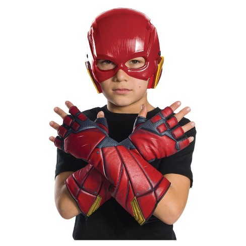 Kids' Justice League Movie The Flash Gloves - image 1 of 1