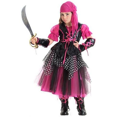 Girls Caribbean Pirate Halloween Costume Princess Paradise Target