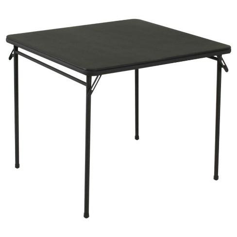 34 Vinyl Top Folding Table Cosco