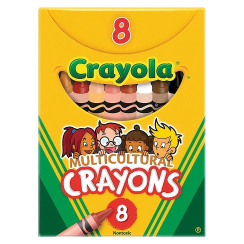 Crayola® Multicultural Crayons 8ct - image 1 of 1