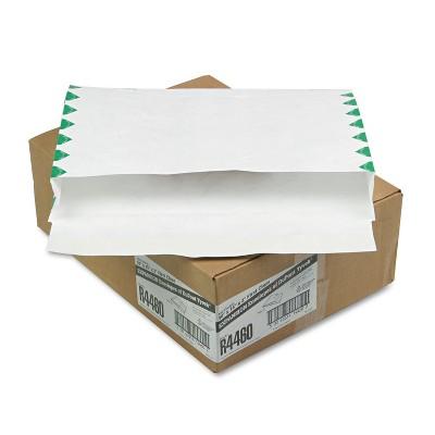 Survivor Tyvek Booklet Expansion Mailer 1st Class 10 x 15 x 2 White 18lb 100/Carton R4460
