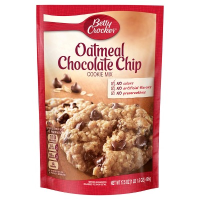 Baking Mixes: Betty Crocker Oatmeal Chocolate Chip Cookie Mix