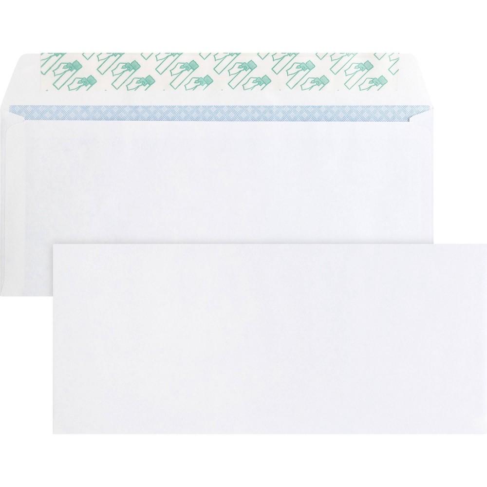 Image of Business Source 500ct Regular Tint Peel/Seal Envelopes
