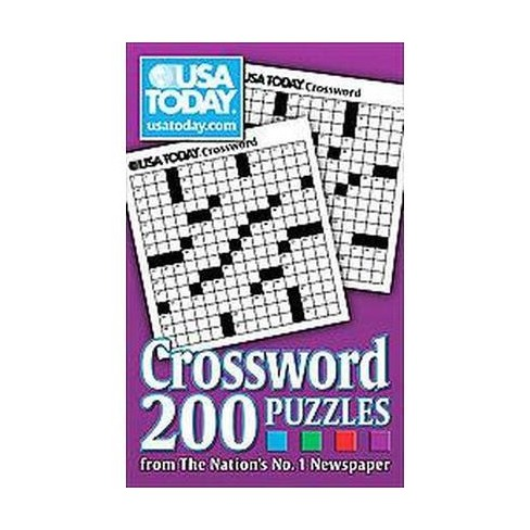 Usa Today Crossword Paperback By Usa Today Target